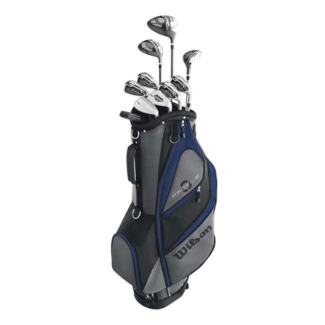 WGGC58200 Wilson Profile XD Men's Senior Right Handed Golf Club Set, Blue 6