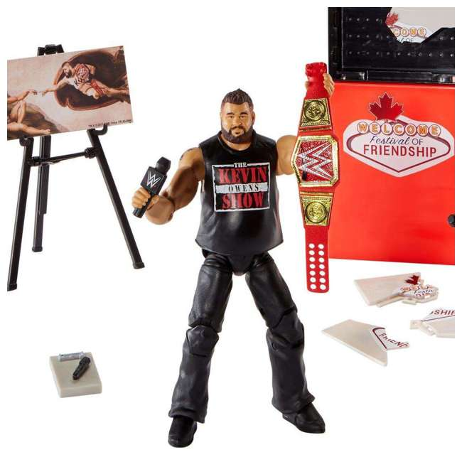 FRX45 WWE Epic Moments Festival of Friendship 2 Figure Play Set 3