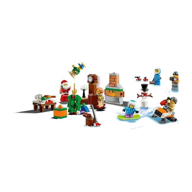 6251831 LEGO 60235 2019 Advent Calendar Block Building Kit w/ 7 Minifigures, 234 Piece 5