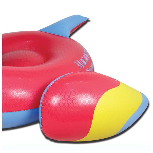 6 x 2183248-MW Margaritaville Swimming Pool Rideable Parrot Inflatable Float, Red (6 Pack) 4