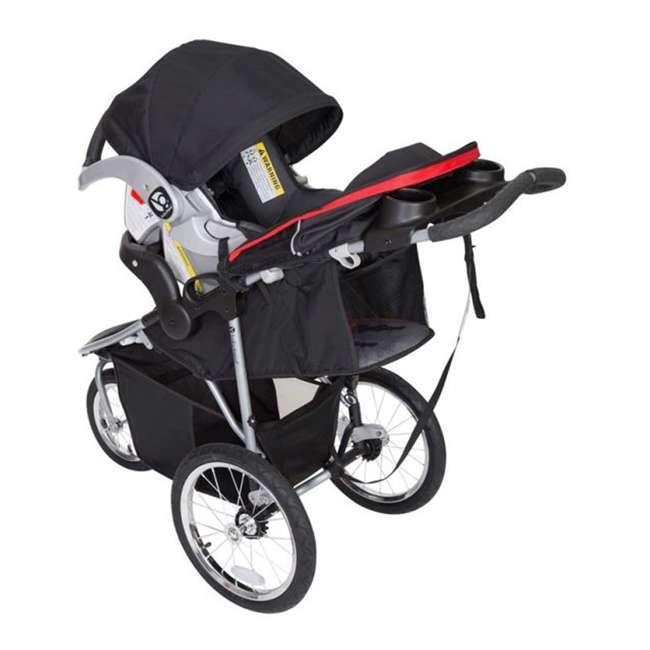 JG75B47A Baby Trend Cityscape Infant Safe Lightweight Sporty Jogger Stroller, Jolt Red 1