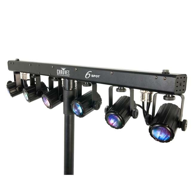 6-SPOT Chauvet 6-Spot LED Dance Effect Light Bar System | 6SPOT 3