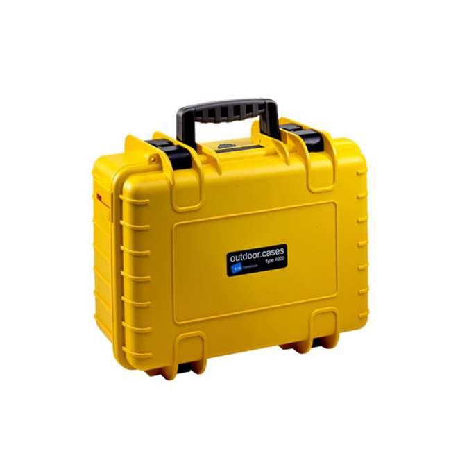 4000/Y B&W International 4000/Y Hard Plastic Polypropylene Outdoor Storage Case, Yellow
