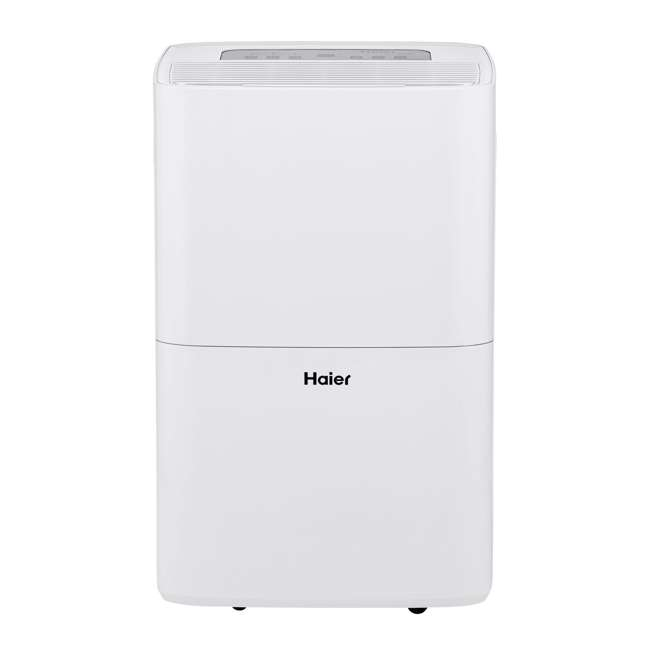 HEN70ETFP Haier 70-Pint 2-Speed Digital Control Portable Dehumidifier with Pump