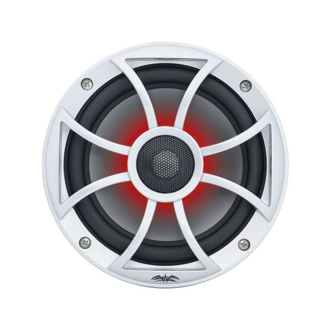 "RECON6SRGB Wet Sounds Recon 6.5"" 2-Way Marine Speakers w/ LED lights 3"
