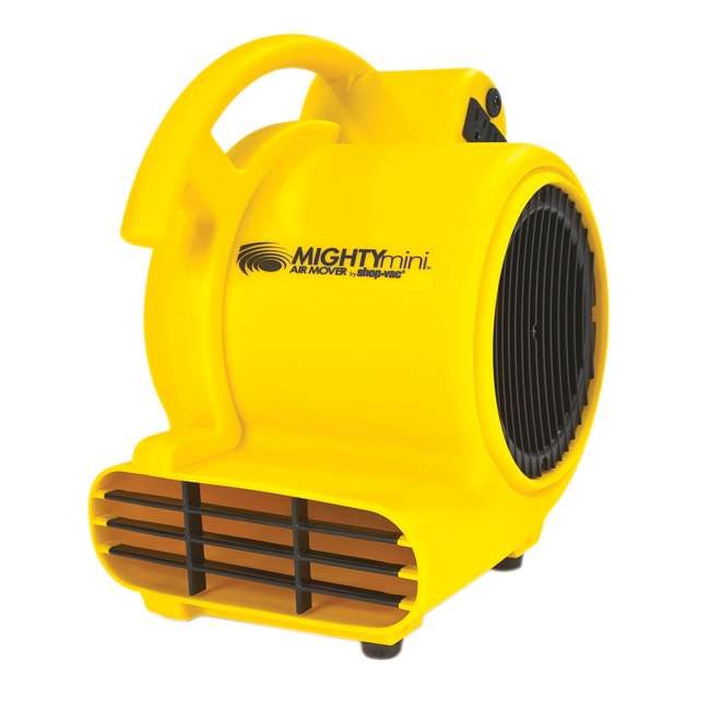 1032000 Shop-Vac 1032000 Shop Air High Velocity 500 Max CFM Air Mover/ Dryer, Yellow