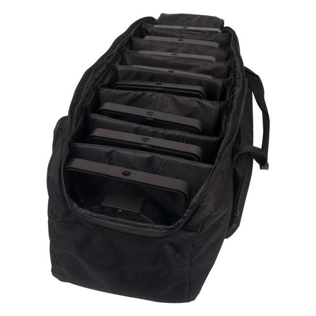 8 x SLIM-PAR56 + 8 x DMX3P10FT + F4PAR-BAG + OBEY6 Chauvet SlimPar 56 LED Par Can Lights + Obey 6 Controller + Bag + Cables 6