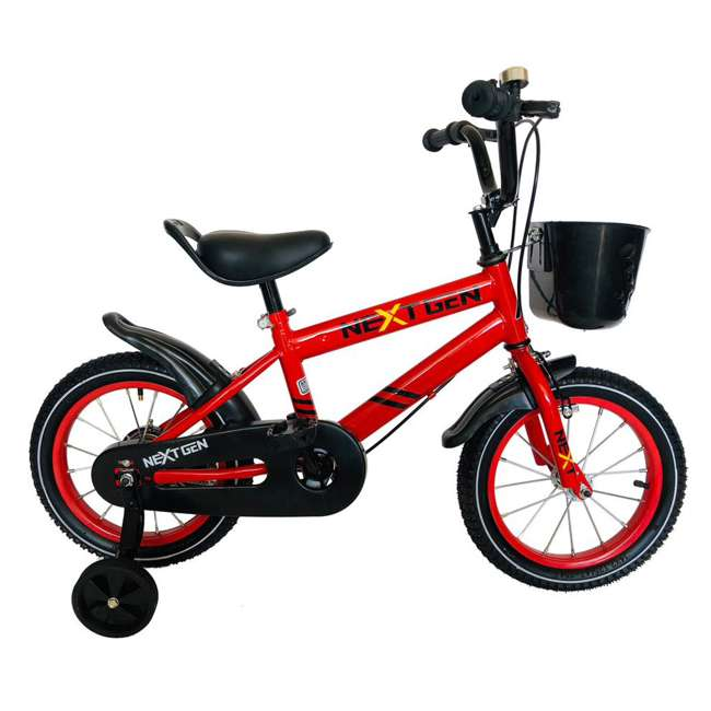 14BK-R NextGen Coordination Bike with Training Wheels, Red