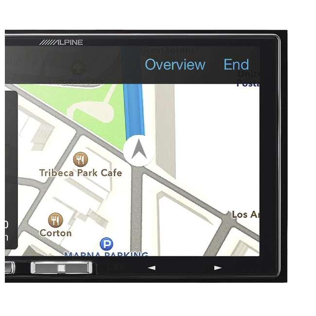 iLX-107 Alpine iLX-107 7-Inch In-Dash Wireless Apple CarPlay Receiver 3