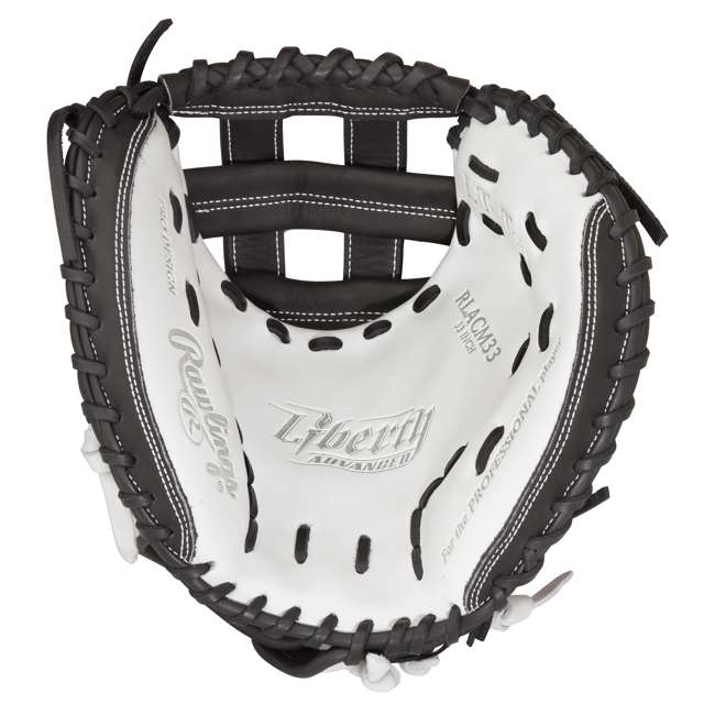 RLACM33-3/0 Rawlings Liberty Advanced 33-Inch Catcher Mitt Adult Softball Glove 1