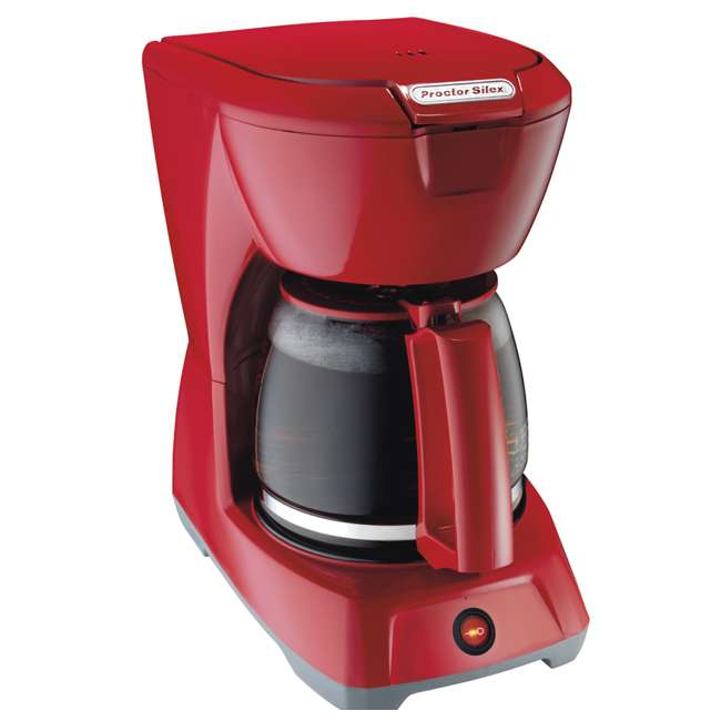 43603 Proctor Silex 43603 12-Cup Coffee Maker | Red