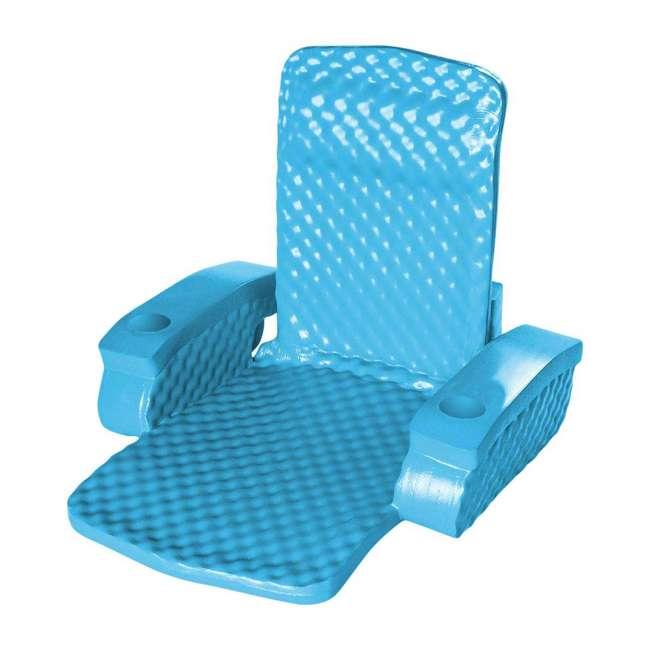 6370128-U-A TRC Recreation Baja Swimming Pool Folding Chair Foam Float (Open Box) (2 Pack) 2