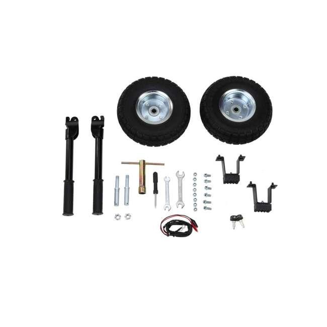 XP10000E + XPLGC DuroMax 10000 Watt Portable Gas Generator & Generator Cover, Black 7