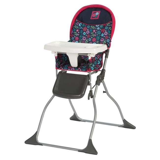 HC216DWD Simple Fold 3 Position High Chair, Flower Garden