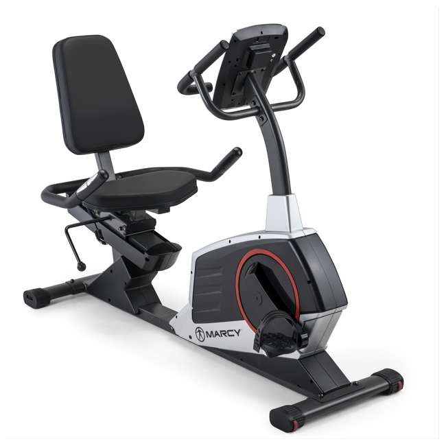ME-706-U-C Marcy Regenerating Magnetic Recumbent Home Workout Exercise Bike (For Parts) 1