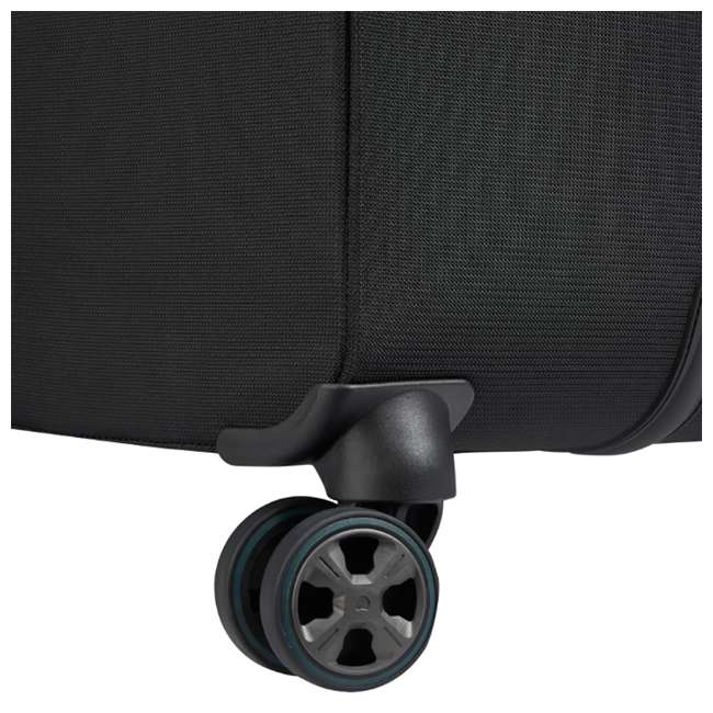 """40229182000 DELSEY Paris 25"""" Expandable Spinner Upright Hyperglide Luggage Suitcase, Black 7"""