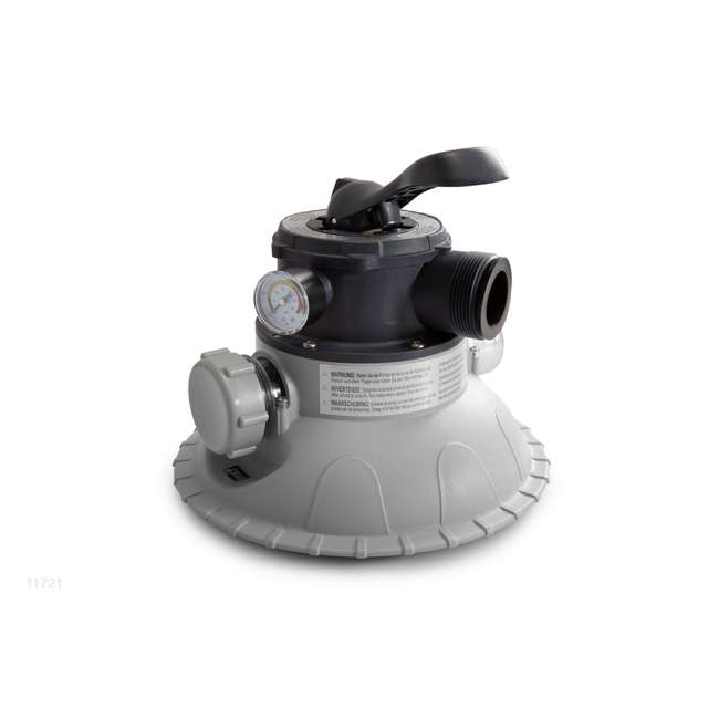 11721-6-Way-Valve-and-Tank-Cover-Part-2 Intex 11721, 6-Way Valve & Tank Cover Set (New Without Box)
