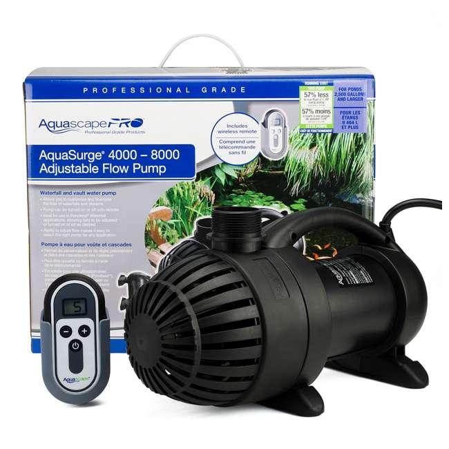 AQS-45010-OB Aquascape AquaSurge 4,000-8,000 Adjustable Flow Pond Pump (Open Box) 9