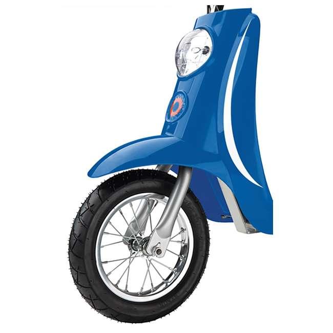 15130641 + 15130610 Razor Pocket Mod Miniature Electric Scooters, 1 Blue & 1 Pink 5