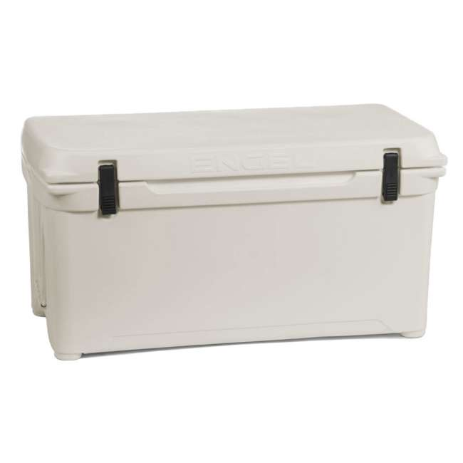 ENG85-CW-U-B Engel Coolers 76 Quart 96 Can Roto Molded Cooler, Coastal White (Used) 5