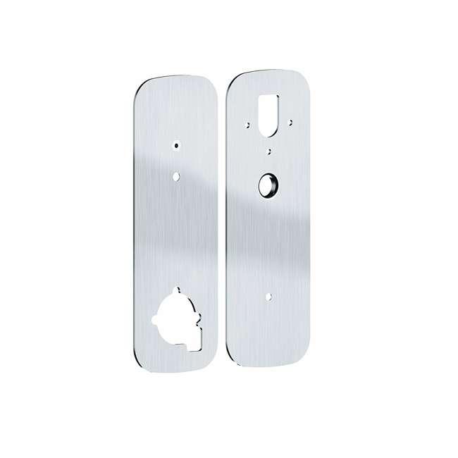 PGA006SN Lockly Deadbolt Lock Cover Plate Accessory for Secure Smart Lock, Satin Nickel 2
