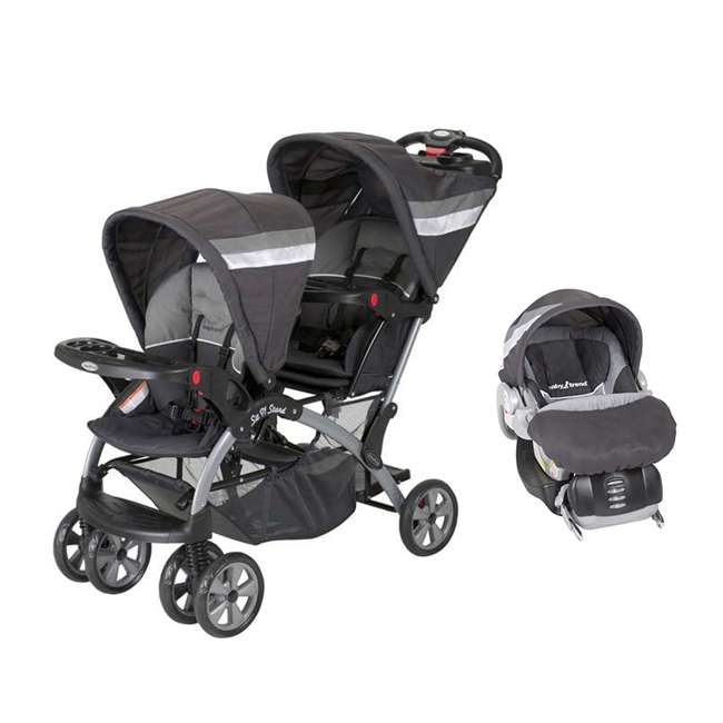 Baby Trend Sit N Stand Double Stroller Baby Trend Flex
