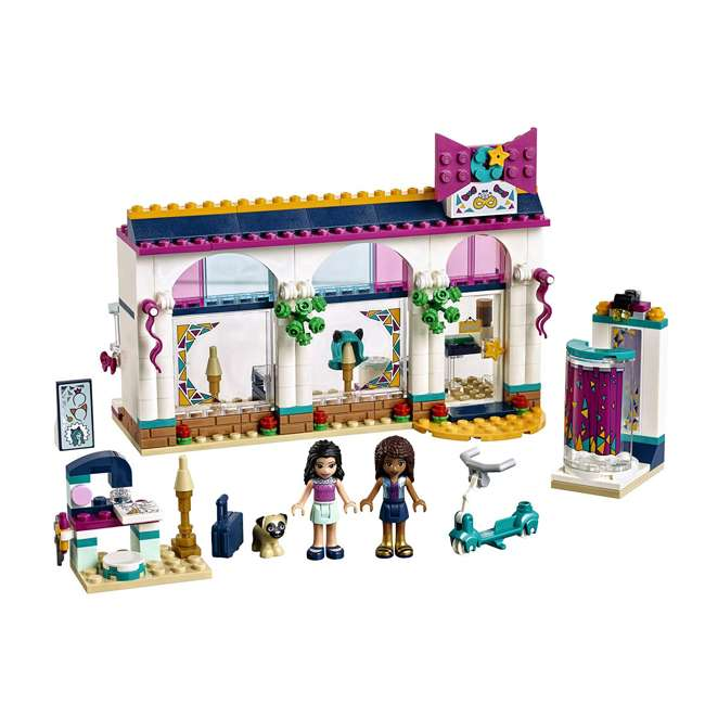 6213474-U-A LEGO Friends Andrea's Accessories Store Block Building Kit Set (Open Box) 1