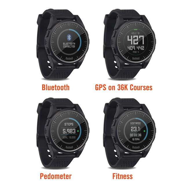 BGOLF-368752 Bushnell Golf Excel Bluetooth GPS Rangefinder Watch, Charcoal 1