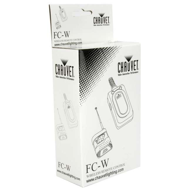 FC-W Chauvet DJ FC-W Wireless Fog Machine Remote 6