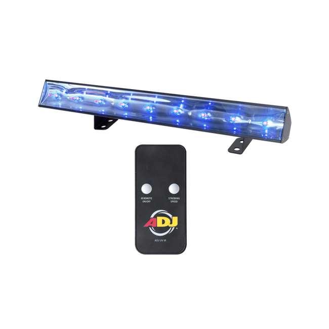 ECO-UVBAR-50-IR (2) American DJ Eco UV Bar 50 IR LED Light Fixtures w/ Remotes 1