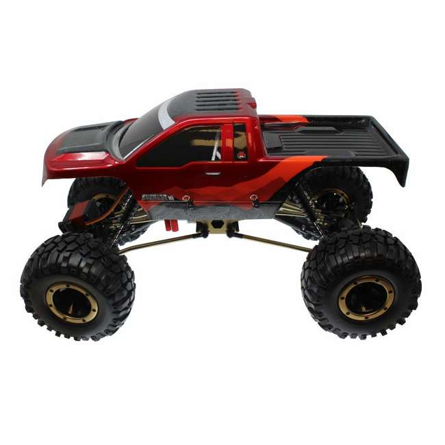 EVEREST-10-RedBlack Redcat Racing Everest-10 1:10 Scale Rock Crawler Electric RC Truck, Red/Black 1