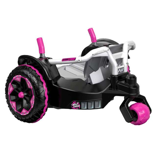 FNK90 Power Wheels Wild Thing 12V Kids Ride-On Vehicle, Pink 5