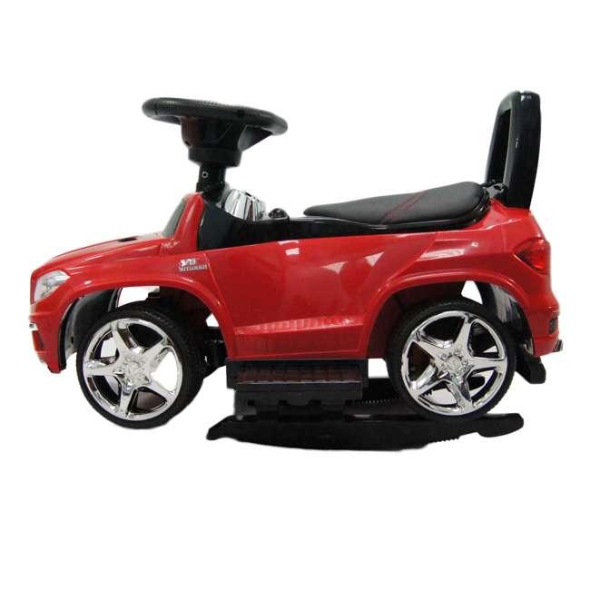 4 in 1 Mercedes Push Car Red Best Ride On Cars Baby 4 in 1 Mercedes Toy Push Vehicle, Stroller, & Rocker, Red 6