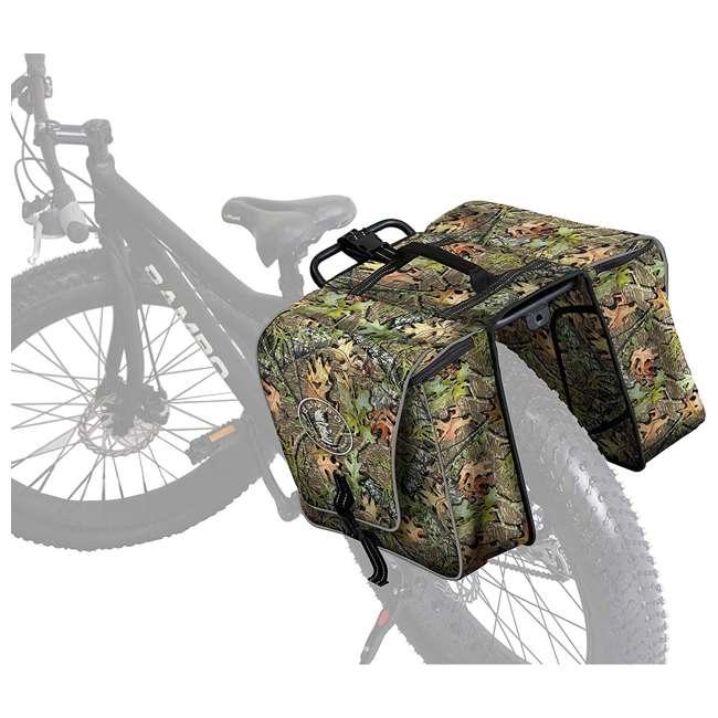R164 Rambo Bikes R164 Bicycle Waterproof Saddle Luggage Bag, Mossy Oak Obsession
