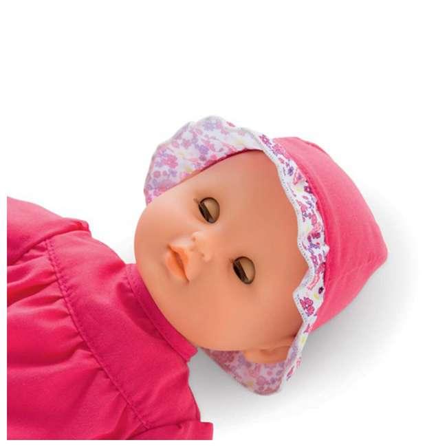 100130 + FRN90 Corolle Mon Premier Baby Bath Waterproof Coralie Doll with Duck & Toy Stroller 3