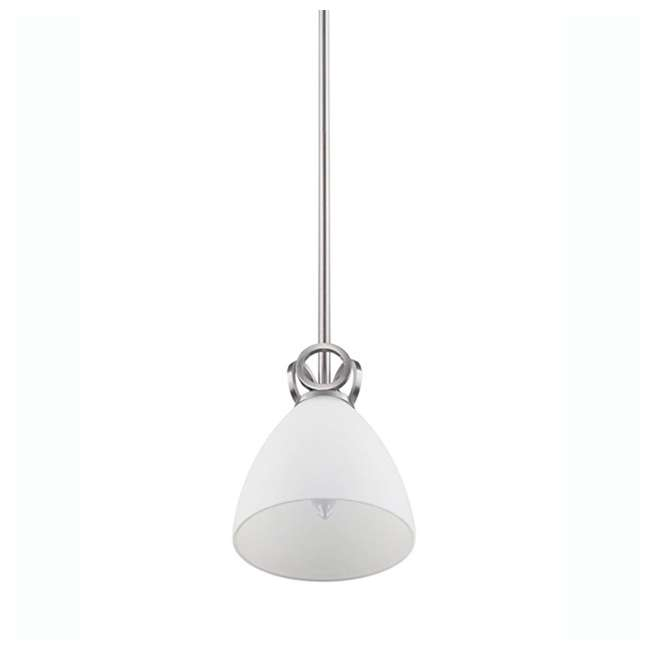 3 x PLC-TC0024217 Philips Maurice 1-Light Ceiling Pendant Fixture, Brushed Nickel (3 Pack) 2