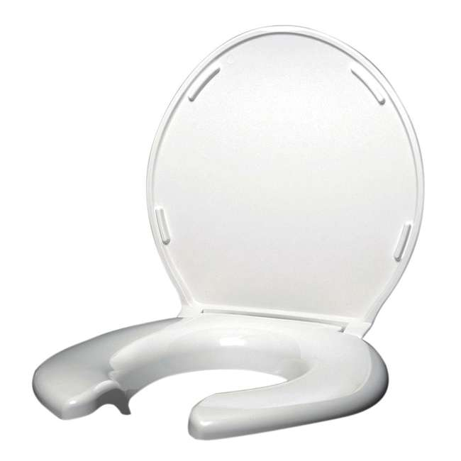BJP-6W-U-C Big John Products Standard Closed Front Toilet Seat with Cover (For Parts) 1