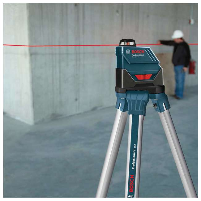 GLL 150 ECK-RT-RB Bosch GLL 150 ECKRT Self Leveling 360 Degree Laser Level (Certified Refurbished) 4