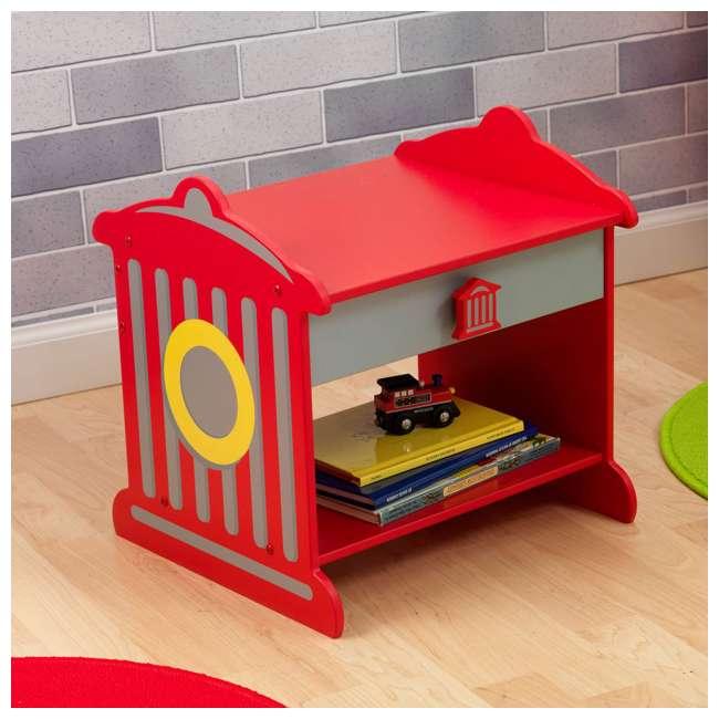 76024 KidKraft Firetruck Toddler Table | 76024 1