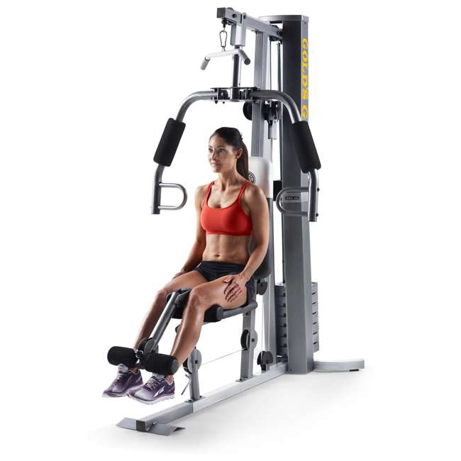 Golds Gym Treadmill Connect Bluetooth: Gold's Gym XRS 50 Full-Body Home Gym : GGSY24613