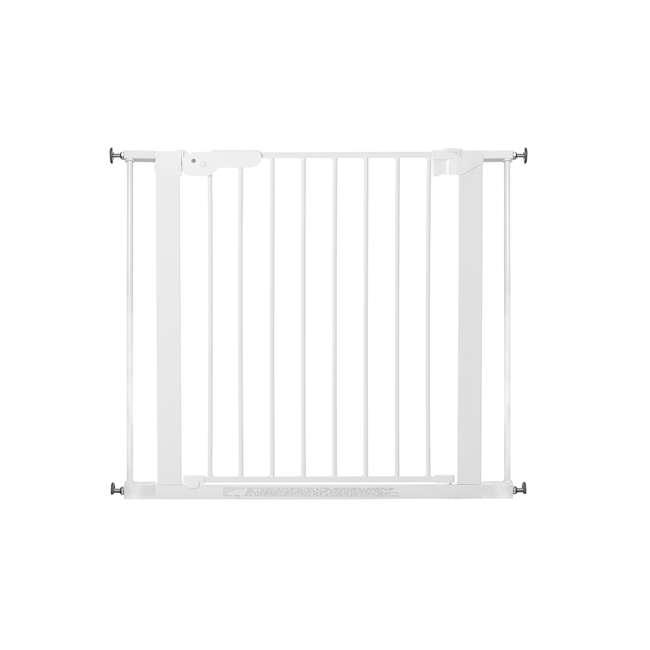 """BBD-60114-5492 + BBD-58014-5400 BabyDan Premier 28.9-36.7 Inch Baby Gate & Extend A 2 x 2.6"""" Gate Kit, White 3"""