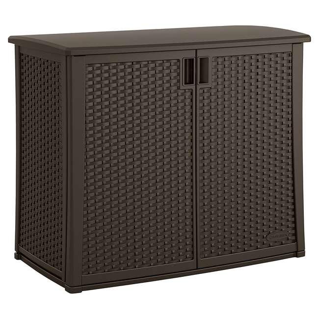 BMOC4100-U-A 97 Gallon Backyard Oasis® Storage and Entertaining Station with Shelf(Open Box)