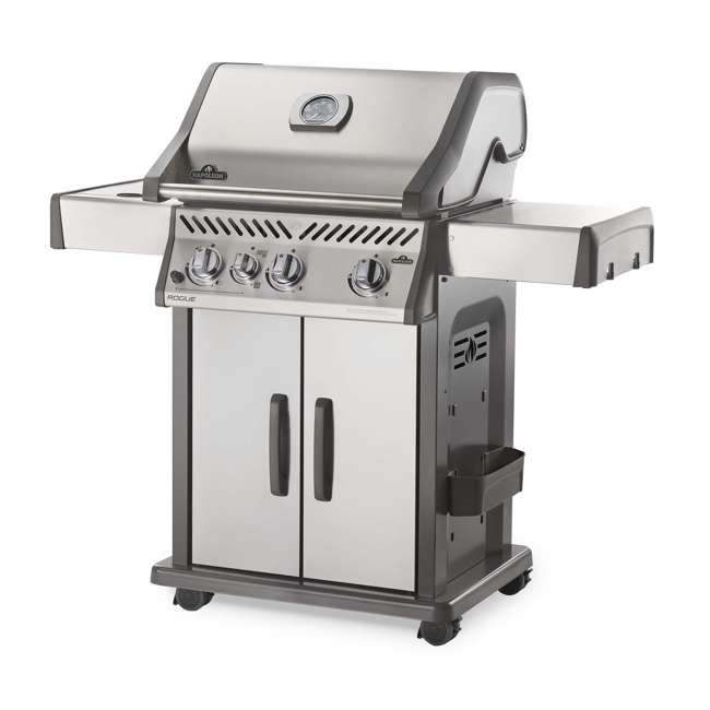 R425SIBPSS-OB Napoleon Rogue 425 Propane Gas Grill with Side  (Open Box)