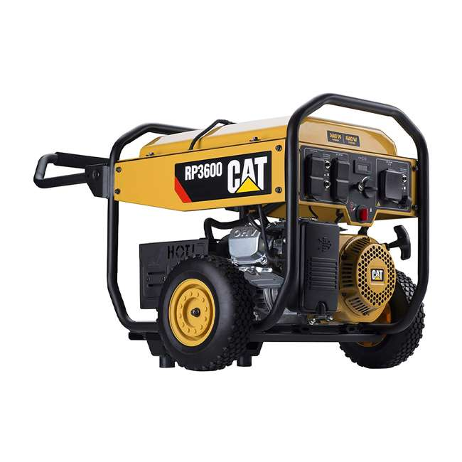 CAT-502-3684 CAT 502-3684 3,600 Running Watts 13 Hour 5 Outlet LED Lit Portable Generator