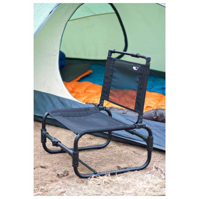 169B TravelChair 169 Larry Weather Resistant Aluminum Outdoor Camping Chair, Blue 2