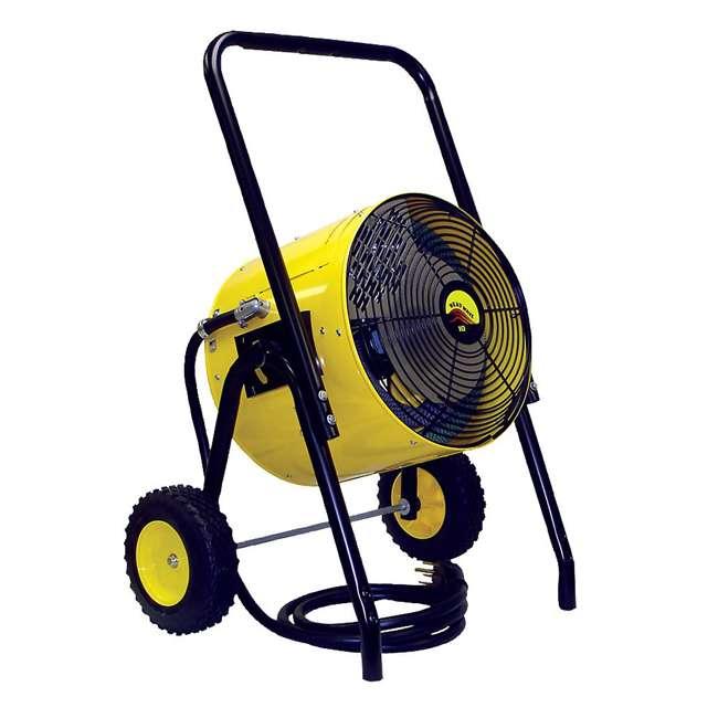 FES10241CA Fostoria FES-1024-1CA 34000 BTU Portable Electric Fan Salamander Space Heater