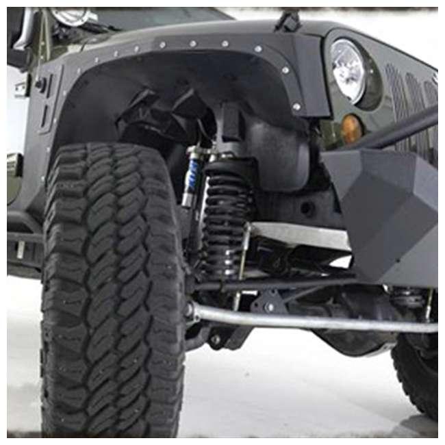76880-SMITTYBILT Smittybilt XRC Front Fender Armor for Jeep Wrangler, Rubicon & Unlimited 2