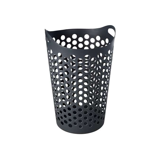 12 x FBA32518 Ezy Storage Flexi 15 Gallon Plastic Flex Laundry Basket Clothes Hamper (12 Pack) 2