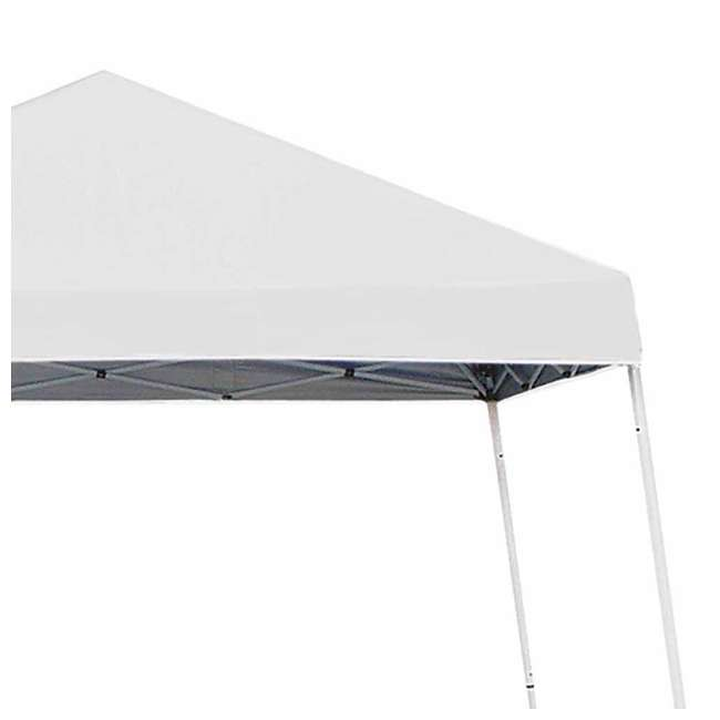 ZSB10INSTWH-PB-U-A Z-Shade 10' x 10' Angled Leg Instant Shade Canopy Tent Shelter, White (Open Box) 3