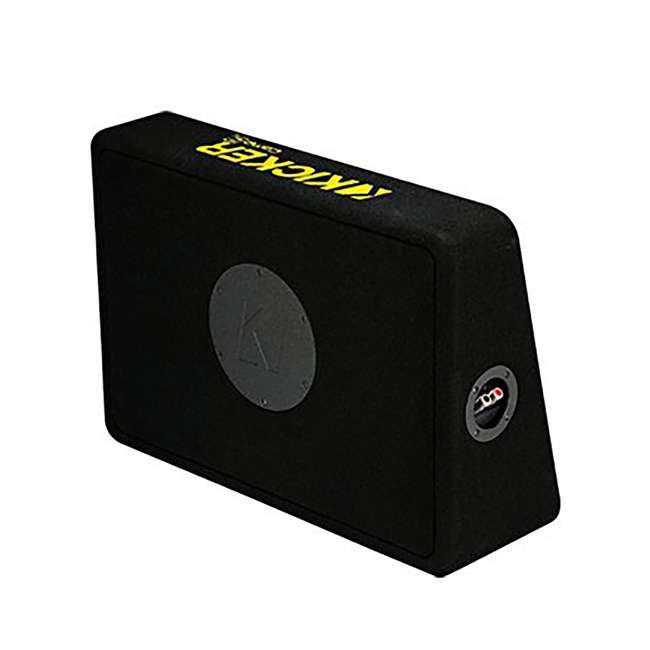 44TCWC104 + R1100M + AKS8 Kicker 44TCWC104 10-Inch 600W /Truck Subwoofer with Box with Amplifier with 8 Gauge Amp Kit 2